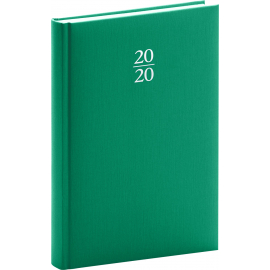 Daily diary Capys green 2020, 15 × 21 cm