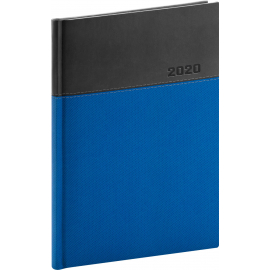 Daily diary Dado 2020, blue-black, 15 × 21 cm