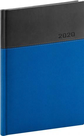 Denní diář Dado 2020, modročerný, 15 × 21 cm