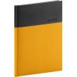 Denní diář Dado 2020, žlutočerný, 15 × 21 cm