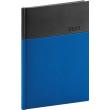 Denní diář Dado 2021, modročerný, 15 × 21 cm