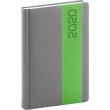 Daily diary Davos gray-green 2020, 15 × 21 cm