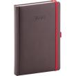 Daily diary Luzern brown 2020, 15 × 21 cm