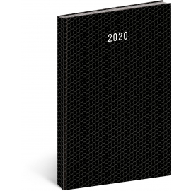 Denní diář Magnus černý, 21 × 29,7 cm