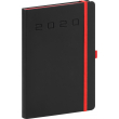 Daily diary Nox black-red 2020, 15 × 21 cm