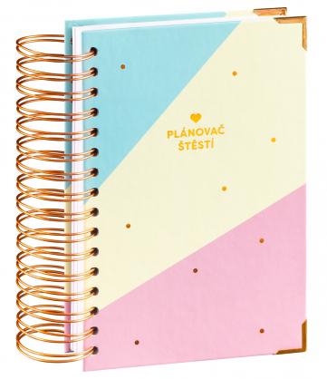 Denní nedatovaný diář Plánovač štěstí v dárkovém balení