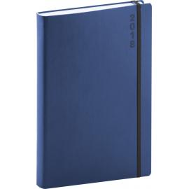 Daily diary Soft 2018, modročerný, 15 x 21 cm, A5