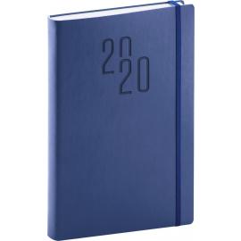 Daily diary soft blue-blue 2020, 15 × 21 cm