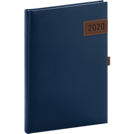 Daily diary Tarbes blue 2020, 15 × 21 cm