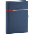 Denní diář Tomy 2022, modročervený, 15 × 21 cm