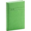 Denní diář Vivella 2018, zelený, 15 x 21 cm, A5