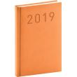 Denní diář Vivella Fun 2019, oranžový, 15 x 21 cm