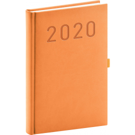 Daily Diary Vivella Fun orange 2020, 15 × 21 cm
