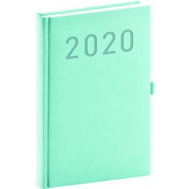 Daily Diary Vivella Fun turquoise 2020, 15 × 21 cm