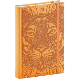 Daily diary Vivella Special tiger 2020, 15 × 21 cm