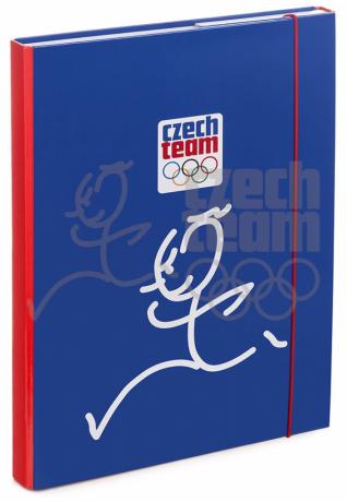 Desky na školní sešity A4 Český olympijský tým – Zátopek