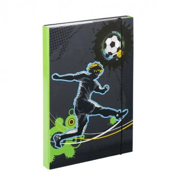 Desky na školní sešity A4 Fotbal