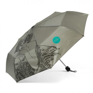 Deštník Alfons Mucha – Emerald, Fresh Collection