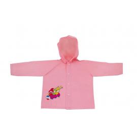 Dětská pláštěnka Kouzelná školka, růžová, 3-4 roky