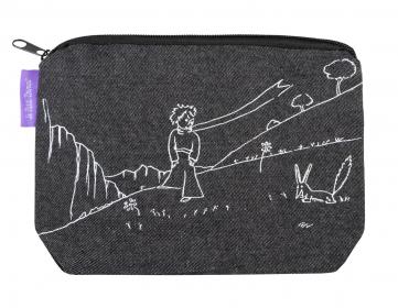 Džínová etue Malý princ (Le Petit Prince) - Black
