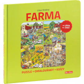 FARMA - Puzzles, coloring books, quizzes