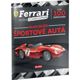 FERRARI, športové autá – Kniha samolepiek