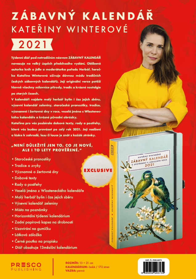 Kalendáře a diáře 2020 EN