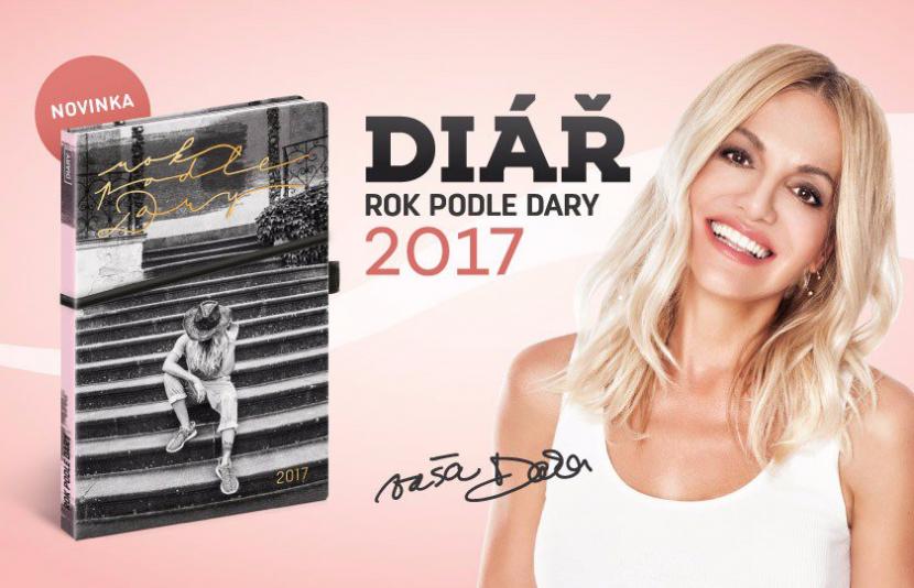 DARA ROLINS EXKLUZIVNĚ – DIÁŘ 2017 – SKLADEM!