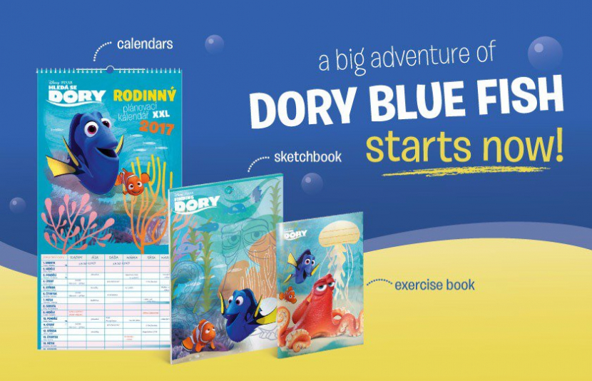 WELCOME, DORY!