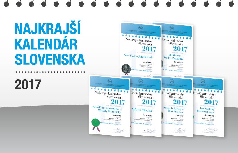NEJKRÁSNĚJŠÍ KALENDÁŘ SLOVENSKA 2017
