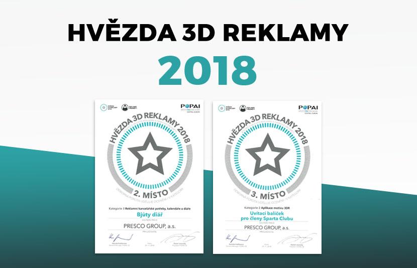 HVĚZDA 3D REKLAMY 2018