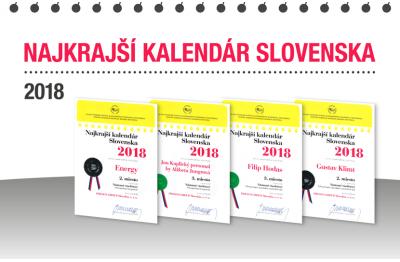 NEJKRÁSNĚJŠÍ KALENDÁŘ SLOVENSKA 2018