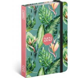 Weekly diary Monstera 2021, 11 × 16 cm