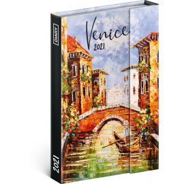 Magnetic weekly diary Venice 2021, 11 × 16 cm