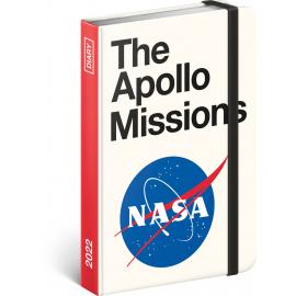 Týdenní diář NASA 2022, 11 × 16 cm