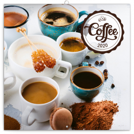 Grid calendar Coffee – scented 2020, 30 × 30 cm