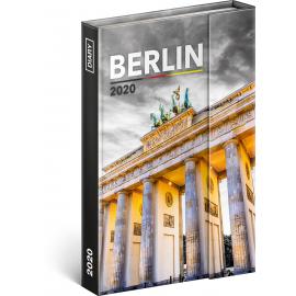Magnetic weekly diary Berlin 2020, 11 × 16 cm