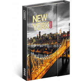 Magnetic weekly diary New York 2020, 11 × 16 cm