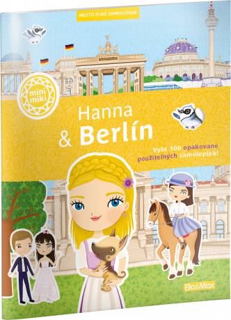 HANNA & BERLÍN – Mesto plné samolepiek