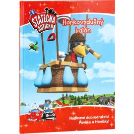 Horkovzdušný balon - kniha Statečná autíčka