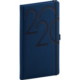 Pocket diary Ajax blue 2020, 9 × 15,5 cm