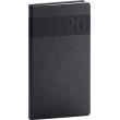 Pocket diary Aprint black 2020, 9 × 15,5 cm