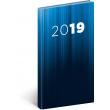 Kapesní diář Cambio 2019, modrý, 9 x 15,5 cm