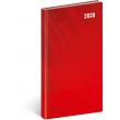 Kapesní diář Cambio Classic 2020, červený, 9 × 15,5 cm