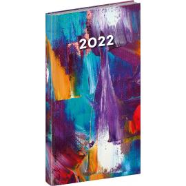 Kapesní diář Cambio Fun 2022, Malba, 9 × 15,5 cm