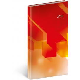 Kapesní diář Cambio – Pixel 2018, 9 x 15,5 cm