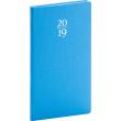 Kapesní diář Capys 2019, modrý, 9 x 15,5 cm