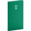 Kapesní diář Capys 2019, zelený, 9 x 15,5 cm