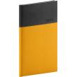 Kapesní diář Dado 2020, žlutočerný, 9 × 15,5 cm