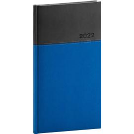 Kapesní diář Dado 2022, modročerný, 9 × 15,5 cm